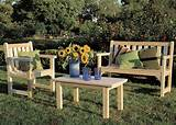 garden furniture