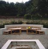 Garden seating and tables