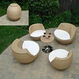 home rattan garden furniture set the good durability of rattan patio