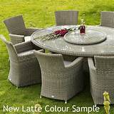 paris oval woven rattan garden furniture set by bramblecrest 10 seat