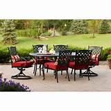 better homes and gardens fairglen 7 piece patio dining set seats 6