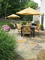 ... Modish and Outstanding Outdoor Living Space: patio landscaping ideas