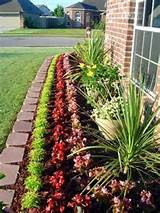 front yard flower bed 375x500 landscaping designs for the front yard