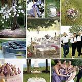 Photo Gallery of the Outdoor Wedding Decoration