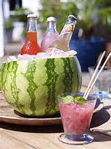 garden party decorations ideas melon smoothie is the perfect