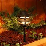 moonrays low voltage metal pagoda lights