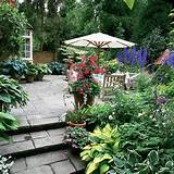 Patio garden | garden ideas | image
