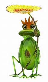 outdoor decor sunflower king garden frog