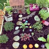 Fairy garden for my classroom.