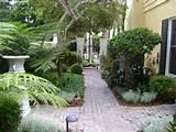 english garden entrance