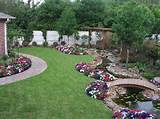 Landscape Designer Amusing Backyard Landscaping Ideas Backyard Flowers ...