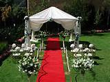 common outdoor wedding ceremony decorations by pinkog com