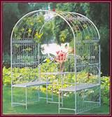 metal garden arch, #garden arch, #iron garden arch
