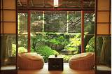 ethnic japanese style seating area