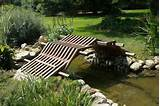 homemade garden decoration ideas with wooden bridge homemade garden