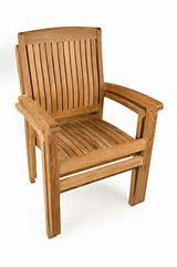 Teak outdoor garden chairs