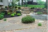 Stone pathway leading to natural stairs located at FrisellaNursery.com ...
