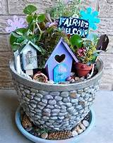 Maya is planning her fairy garden based on this one.