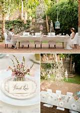 garden wedding ideas home wedding decorations