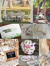 rustic garden wedding ideas
