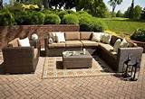 garden beauteous patio design scenic used wicker patio furniture sets