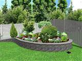 flower bed ideas landscape picture