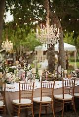 Rustic French Garden-Inspired Garden Table