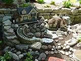 Ideas Outdoor. Chic Miniature Houses And Fairy Garden Ideas Pictures ...