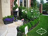 Small Flower Gardens In Front Of House Small Flower Gardens Home