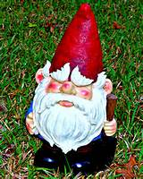 first we found a gnome gnome shopping was difficult for imo she liked