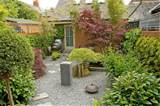 Japanese garden landscaping project, Oxford. Japanese designer.