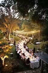 amazing outdoor reception idea
