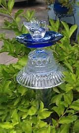 Glass garden art. #thecolorofsummer