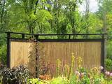 fencing ideas short and simple garden bamboo fence design ideas