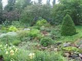 rock garden lush landscape