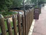 rustic garden fencing idea