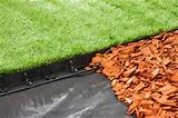 Plastic Lawn Edging - 100 cm x 55 mm