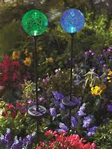 Moonrays Color Changing Solar Glass Balls