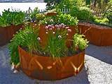 awesome landscape design with herb garden ideas and container plants