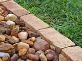 how to install garden edging outdoors hgtv