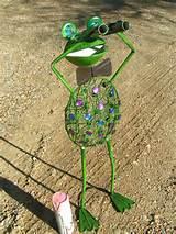 metal garden art frog binoculars 8 jpg