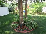 flower beds around trees ideas hznwzkn