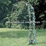 Arch trellis, #garden arbour designs, #cast iron arbour