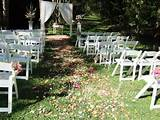 ideas for homemade wedding decoration garden wedding decorations