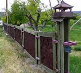 This very unusual fence lives in Dixon, N.M....