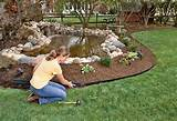 garden edging products plastic landscape edging http wwwpinterestcom ...