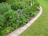 drives lawn edgings and other similar structures see pictures below