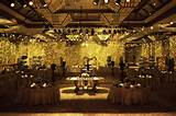 ... Indoor Garden Wedding Round Table And Chairs And Wonderful Lighting