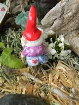 funny garden gnome hand made little by enchantdmushroomland