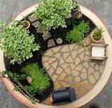 Interior, Indoor Mini Garden Design: Creating An Indoor Garden Ideas